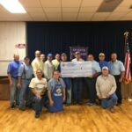 Schulenburg KofC Flood Relief Donation