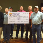 Sunday, December 11th the Knights of Columbus Chromcik Council #2754 presented to AMEN a check for $500 dollars. Those present in photo are -- Left to Right: Jim Kothman, Marcus Recek, Rusty Freedman, Charles Youngblood, Garry Schellberg (AMEN treasurer), Randy Proske (Grand Knight), and Ralph Dunk
